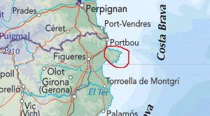 Costa Brava Map Of Spain.Costa Brava Guide Cadaques Cadaques Map